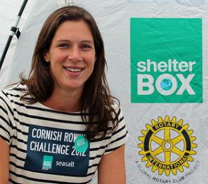 Annie Vernon representing Shelterbox