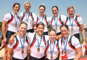 GB W8+ podium Munich 2012